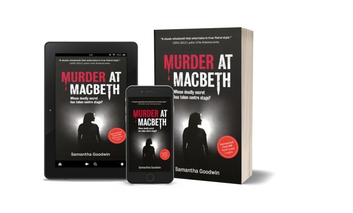 Murder at Macbeth - Paperback Ebook and Phone